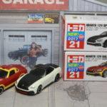 トミカ Tomica アバルト Abarth 124 スパイダー Spider Rally 1/54