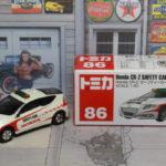 トミカ No.86 ホンダ CR-Z セーフティーカー Honda Safety Car 1/61