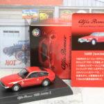 京商 Alfa Romeo Minicar Collection 4 1600 Junior Z 1/64 アルファロメオ ジュニア ザガート