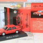 京商 Alfa Romeo Minicar Collection 4 75 T.Spark 1/64 アルファロメオ ツインスパーク